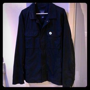 Navy Blue Fall Jacket